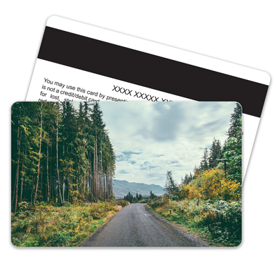 Mountain Road Magnetic Stripe