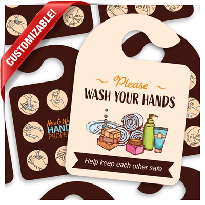 Wash Your Hands - Hang Tag