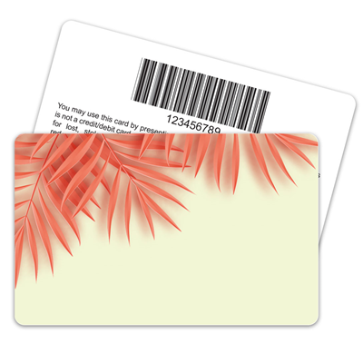 Palm Leaves Barcode