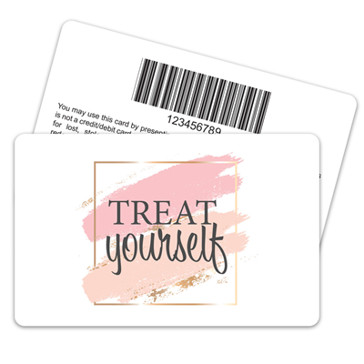 Treat Yourself Barcode