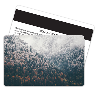 Snowcovered Pine Magnetic Stripe