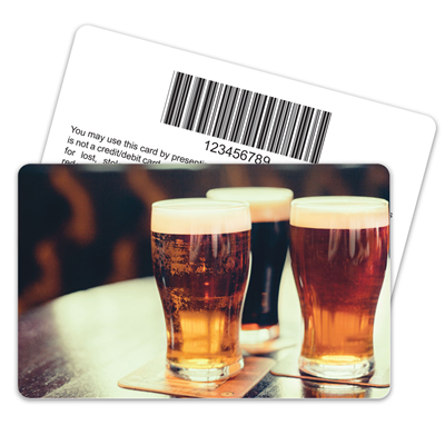 Craft Beer Barcode