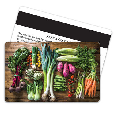 Vegetables Magnetic Stripe
