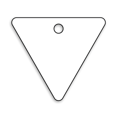 Triangle Key Tag