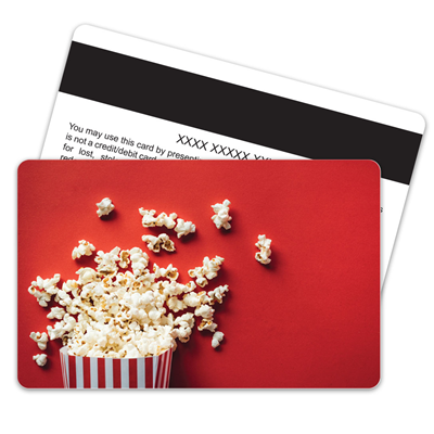 Popcorn Magnetic Stripe