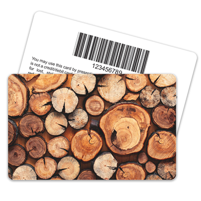 Wood Grain Barcode